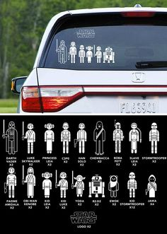 Star Wars Car Family