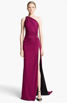 Emilio Pucci One Shoulder Jersey Gown available at #Nordstrom