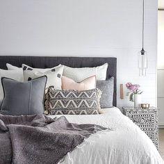 A cushion arrangement too good to disturb!  Eadie