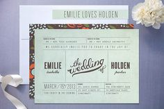 45 Wedding Invitation Designs That Reflect The Style Of Your Event | Wedding Photography Design