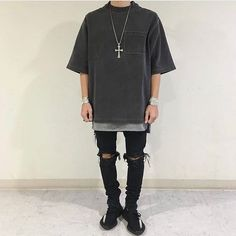 ** Streetwear daily - - - Click this picture to check out our clothing label ** Urban Fashion, Men's Fashion, Fashion Outfits, Fashion Tips, Fashion Design, Fashion Trends, Male Street Fashion, Runway Fashion, Man Style