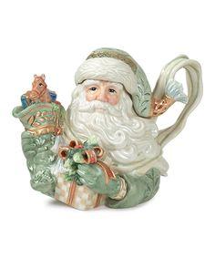 Gregorian Santa Teapot