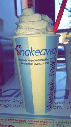 Sometimes all you want is a Hershey's Milk Chocolate shake!