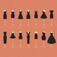 little black dress pattern La petite robe noire Style Work, Mode Style, Donia, Look Fashion, Fashion Tips, Dress Fashion, Feminine Fashion, Fashion Ideas, Fashion Black