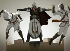 Castlevania& Adi Shankar to Produce Assassin& Creed Anime Series - Evi. Assessin Creed, All Assassin's Creed, Assassins Creed 2, Assassin's Creed Brotherhood, Assasins Cred, Connor Kenway, Game Art, Concept Art, Funny Memes