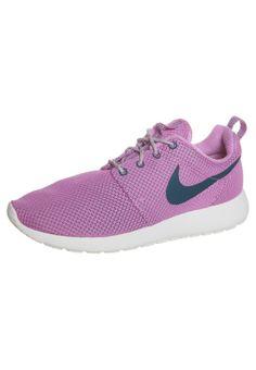 Nike Sportswear - ROSHE RUN - Sneaker - red volt/green/white