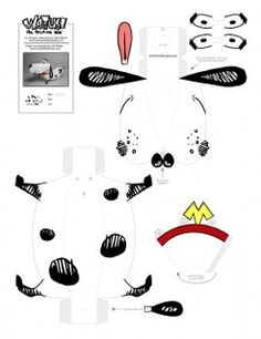 Blog_Paper_Toy_papertoy_Watusi_template_preview