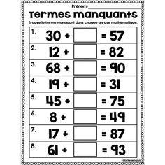 La fiche d'exercices de maths « Lecture de température sur ...