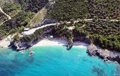 Aerial Photo of Mylopotamos Beach, Pelion - Greece