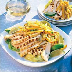 Chicken mango cantaloupe slaw + 19 other no cook recipes