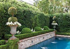 Amazing Ideas for French Country Garden Decor 21 - garden landscaping Pool Fountain, Garden Fountains, Water Fountains, Fountain Garden, Fountain Ideas, Outdoor Fountains, Garden Ponds, Koi Ponds, Herb Garden
