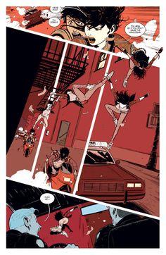11 Comics That Won 2014 - - 11 Comics That Won 2014 Comic Books & Graphic Novels Deadly Class (Rick Remender, Wesley Craig, Lee Loughridge) Comics Story, Bd Comics, Cute Comics, Comic Book Layout, Comic Books Art, Book Art, Comic Manga, Manga Comics, Character Drawing