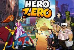 Hero Zero é um MMORPG onde o jogador cria o seu herói escolhendo diversos atributos e entre em lutas, sozinho ou em equipa, para ser o melhor herói.