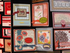Card ideas from the 2011 Stampin' Up! convention