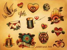 . #Tattoos #TattoosFlash #Flash