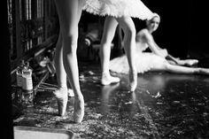 Ballet. #ballet #pointeshoes #pretty #blackandwhite