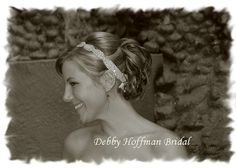 I love this headband - I can't tell if this is it or not  www.etsy.com/debbyhoffmanbridal