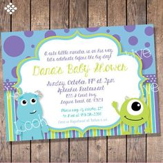 Find This Pin And More On Our Baby By Alicelisap. Monsters Inc. Baby Shower  ...