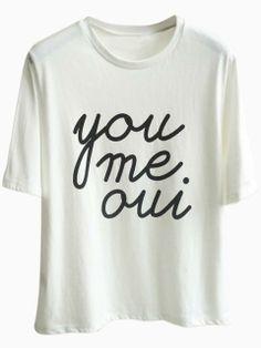 you, me, oui.