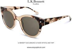 LK BENNETT SUN LKBSUN12 C2 NUDE CRYSTAL AND TORT Lk Bennett, Bond Street, Duchess Of Cambridge, Eyewear, Nude, Crystal, London, Sunglasses, Luxury