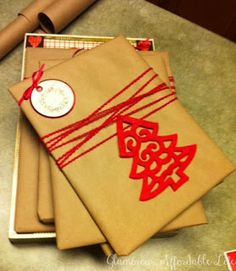 Glamorous, Affordable Life: { Beautiful, Simple Gift Wrapping }