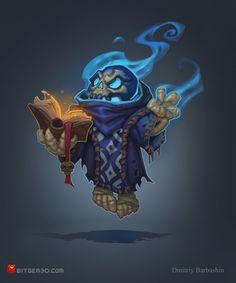 Skeleton Wizard by DmitriyBarbashin.deviantart.com on @deviantART