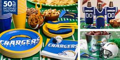 NFL San Diego Chargers Party Supplies - Party City