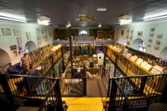 Thought to be the largest bookshop in Scotland, Leakey's bookshop and cafe is based in an old church and offers a wonderful relaxed atmosphere and thousands of books! Bookstore Design, Library Design, Inverness Scotland, Living Willow, Old Churches, Old Maps, Real Wood, Libraries, Bookstores
