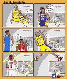 Who would've thought a small cartoon artist from Thailand would be taking the NBA world by storm with his depiction of how Kobe Memes, Funny Nba Memes, Funny Basketball Memes, Mvp Basketball, Nfl Memes, Basketball Legends, Basketball Drawings, Nba Pictures, Nba Players