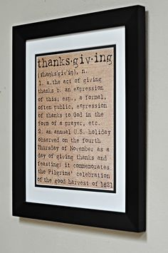 Love this for Thanksgiving. Printable.