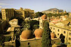 #Palermo panorama miasta Nasz przewodnik: http://gdziewyjechac.pl/22773/co-warto-zobaczyc-w-palermo-top-10-atrakcji-i-zabytkow.html