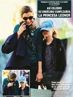 On Saturday, Queen Letizia of Spain and her two daughters Princesses Leonor and Sofia were photographed during they were shopping in Madrid. The Spanish Royal Family visited Prado Museum and then shopped. For Leonore that was a shopping chance because she celebrated her 11th birthday last week. King Felipe was absent because of his South Africa journey