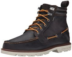 Sperry Top-Sider Men's Authentic Original Lug Boot WP Winter Boot, Brown, 10.5 M US - http://authenticboots.com/sperry-top-sider-mens-authentic-original-lug-boot-wp-winter-boot-brown-10-5-m-us/