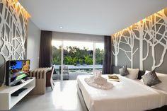 Zeitlos und elegant - mit klaren Strukturen und gedeckten Farben wird ein hochwertiges Ambiente erzeugt.    #home #interior #design #bedroom #modern #ambient #homestory