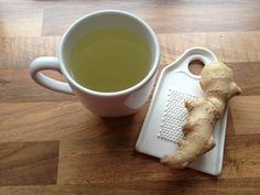 Kopje vers geraspte gemberthee! Waar maak jij 'thee' van?