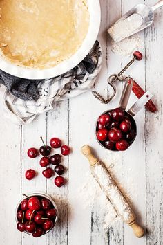 Pie Crust and Cherries | Flickr - Photo Sharing!