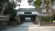飫肥城(おび)大手門再建 日向国