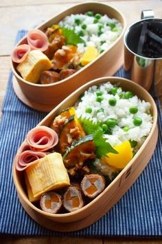 Japanese Lunch Box, Japanese Food, Bento Box Lunch, Aesthetic Food, Lunches And Dinners, Asian Recipes, Food Inspiration, Food Porn, Food And Drink