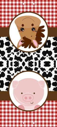 La Granja Bebés  Etiquetas para Candy Buffet para Imprimir Gratis. 92758ce1171