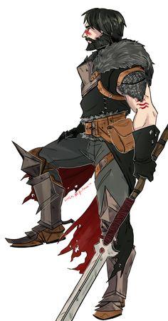 Garrett Hawke. Dragon Age: II.