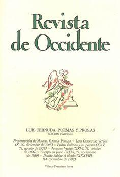 Luis Cernuda, poemas y prosas