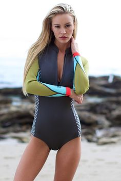 The Girl and The Water - Billabong - Salty Daze Wetsuit / Charcoal - $99