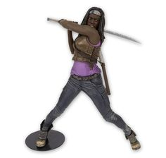 "The Walking Dead Deluxe 10"" Actionfigur Michonne. Hier bei www.closeup.de"