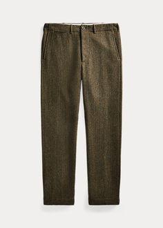 Wool-Blend Tweed Trouser Full Zip Hoodie, Fleece Hoodie, Ralph Lauren, Shirt Jacket, Denim Shirt, Tweed Trousers, Cashmere Hoodie, Chevrons, Textiles