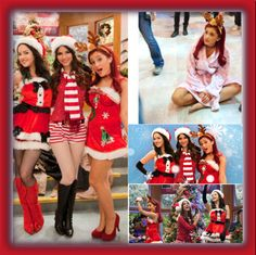 """Victorious Christmas! 3"" by sweetpeadandy ❤ liked on Polyvore"