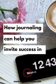 How journaling can help you invite success in — Nicole Tewierik Business Goals, Business Branding, Business Tips, Online Business, Self Discovery, Journal Prompts, Mindset, Journaling, Success