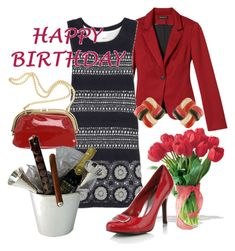 Happy Birthday Dear Henedina by kathid on Polyvore featuring polyvore fashion style 3.1 Phillip Lim Mandee Mother Monsoon clothing
