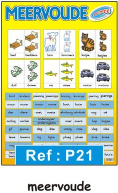 """Verkleinwoorde"" opvoedkundige muurkaart / plakkaat in Afrikaans - Educational Toys Online Phonics Chart, Phonics Song, Phonics Activities, Baby Activities, Afrikaans Language, Worksheets For Grade 3, English Phonics, Learning Games For Kids, School Info"