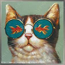 Resultado de imagem para pintura mulher cuida de gato