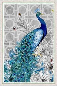 diamond embroidery diy diamond Painting peacock pictures diamond mosaic Needlework diamond picture home decor canvas Peacock Painting, Peacock Art, Diy Painting, Peacock Drawing, Peacock Room, Peacock Colors, Painting Canvas, Pfau Tattoo, Art Bleu